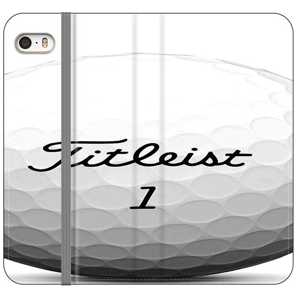 Titleist Ball iPhone 5|5S|SE Flip Case | Frostedcase
