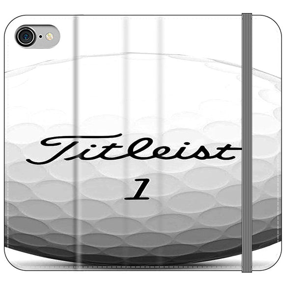 Titleist Ball iPhone 7 Flip Case | Frostedcase