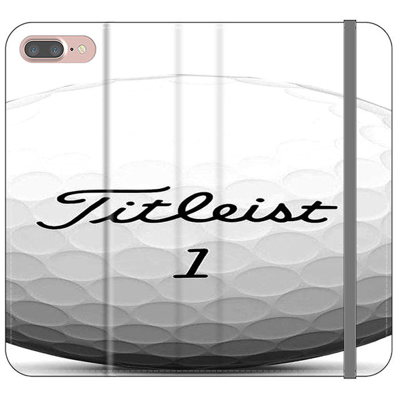 Titleist Ball iPhone 7 Plus Flip Case | Frostedcase