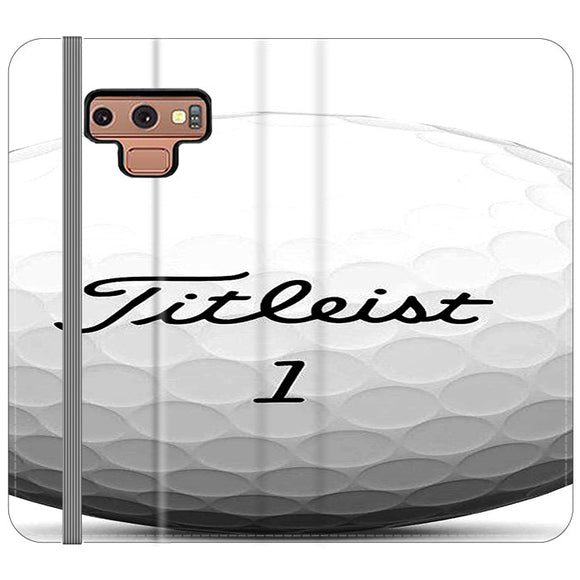 Titleist Ball Samsung Galaxy Note 9 Flip Case | Frostedcase