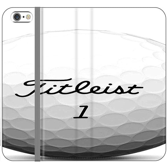 Titleist Ball iPhone 6 Plus|6S Plus Flip Case | Frostedcase