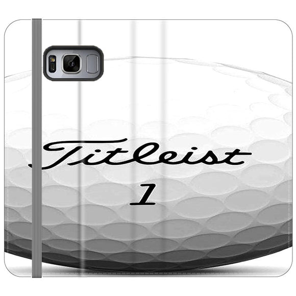 Titleist Ball Samsung Galaxy S8 Flip Case | Frostedcase