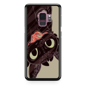 Toothless Mirror Samsung Galaxy S9 Case | Frostedcase
