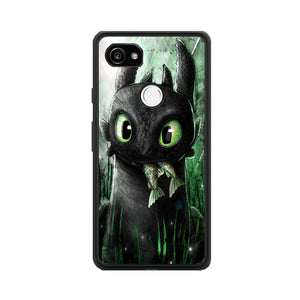 Toothless Eat Fish Google Pixel 2 XL Case | Frostedcase