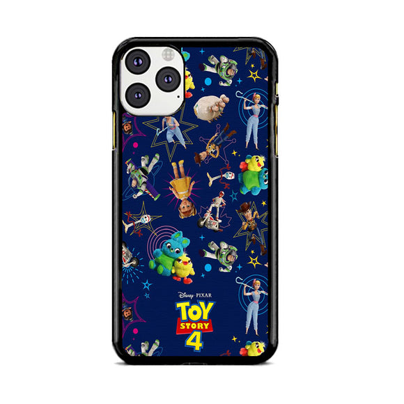 Toy Story 4 Doodle Blue iPhone 11 Pro Case | Frostedcase