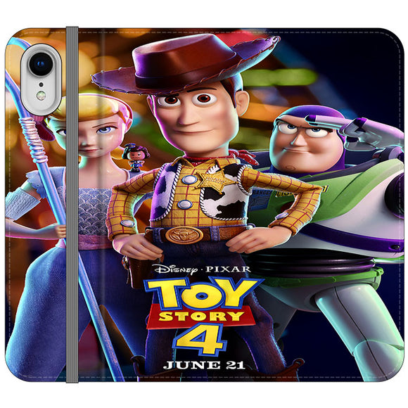 Toy Story 4 Poster Launching iPhone XR Flip Case | Frostedcase