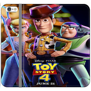 Toy Story 4 Poster Launching iPhone 6 Plus|6S Plus Flip Case | Frostedcase