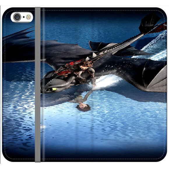 Train Your Dragon The Hidden World Mirror Water iPhone 6 Plus|6S Plus Flip Case | Frostedcase