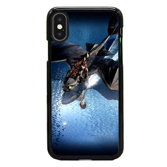 Train Your Dragon The Hidden World Mirror Water iPhone XS Case | Frostedcase
