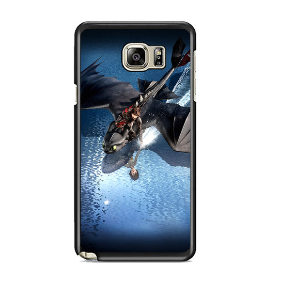 Train Your Dragon The Hidden World Of Rivers Samsung Galaxy Note 5 Case | Frostedcase