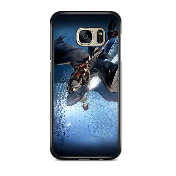 Train Your Dragon The Hidden World Of Rivers Samsung Galaxy S7 EDGE Case | Frostedcase