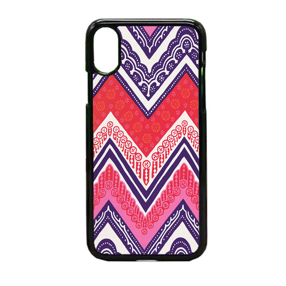 Tribal Pink iPhone X Case | Frostedcase