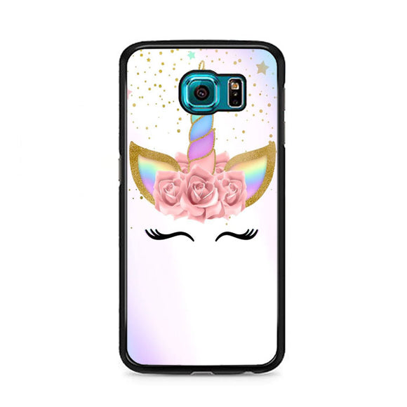 Unicorn Clip Art Samsung Galaxy S6 Case | Frostedcase