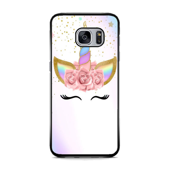 Unicorn Clip Art Samsung Galaxy S7 Case | Frostedcase