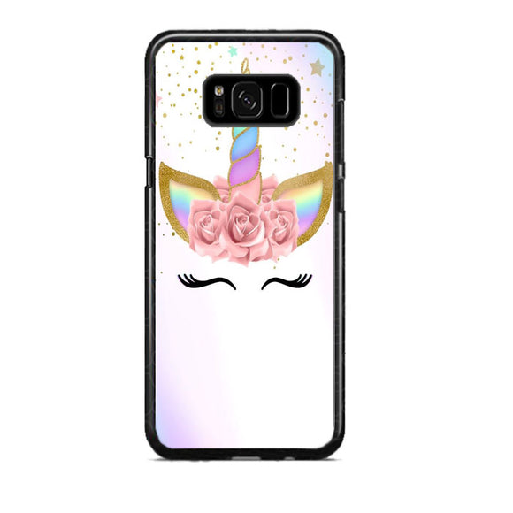 Unicorn Clip Art Samsung Galaxy S8 Plus Case | Frostedcase
