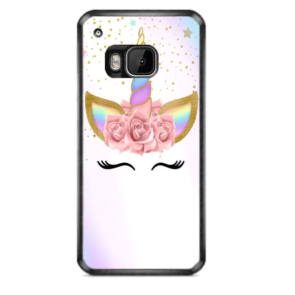 Unicorn Clip Art HTC One M9 Case | Frostedcase