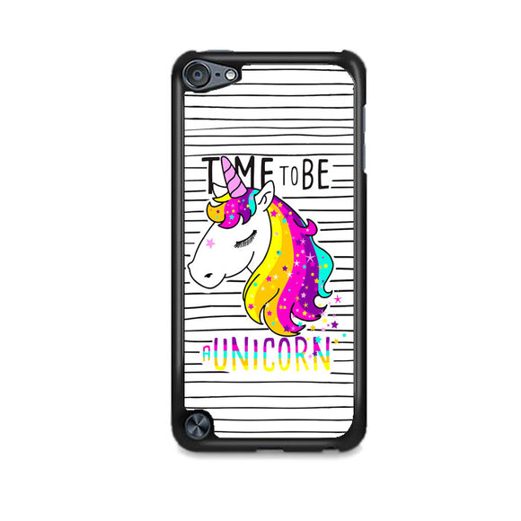 Unicorn Art Line Time To Be iPod 5 Case | Frostedcase