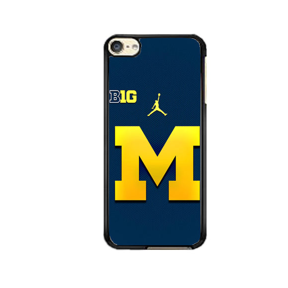 University Of Michigan Medical School Logo iPod 6 Case | Frostedcase