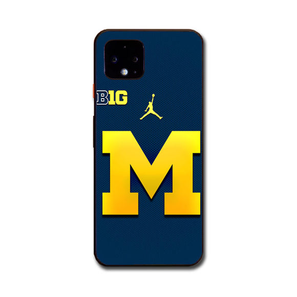 University Of Michigan Medical School Logo Google Pixel 4 Case | Frostedcase
