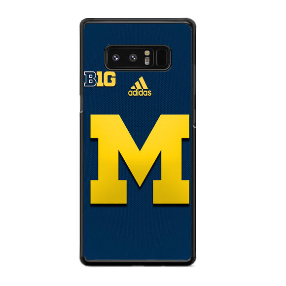 reputable site b1446 a46f9 University Of Michigan Medical School Logo With Adidas Samsung Galaxy Note  8 Case | Frostedcase