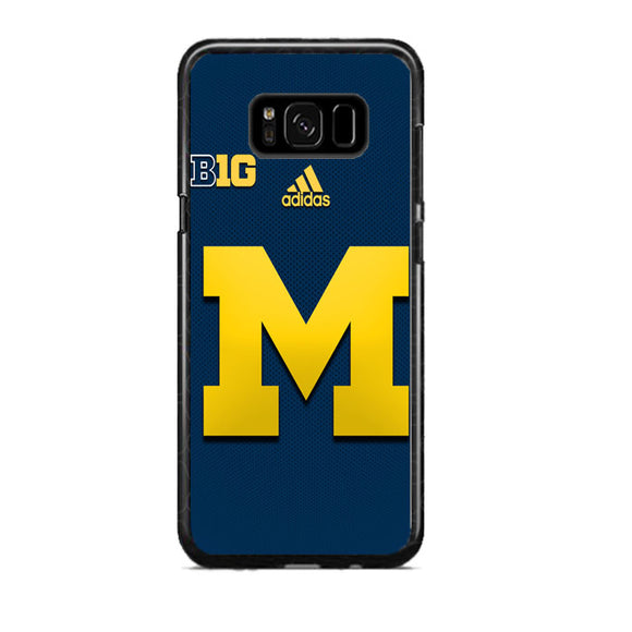 best sneakers e866b e1122 University Of Michigan Medical School Logo With Adidas Samsung Galaxy S8  Plus Case| Frostedcase