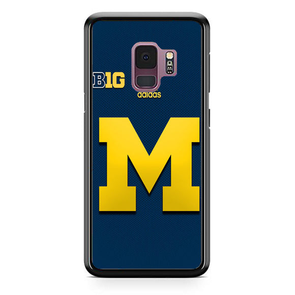 University Of Michigan Medical School Logo With Adidas Samsung Galaxy S9 Case | Frostedcase