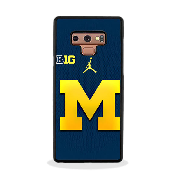 University Of Michigan Medical School Logo Samsung Galaxy Note 9 Case | Frostedcase