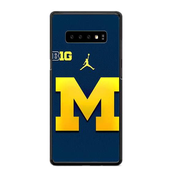 University Of Michigan Medical School Logo Samsung Galaxy S10 Plus Case | Frostedcase