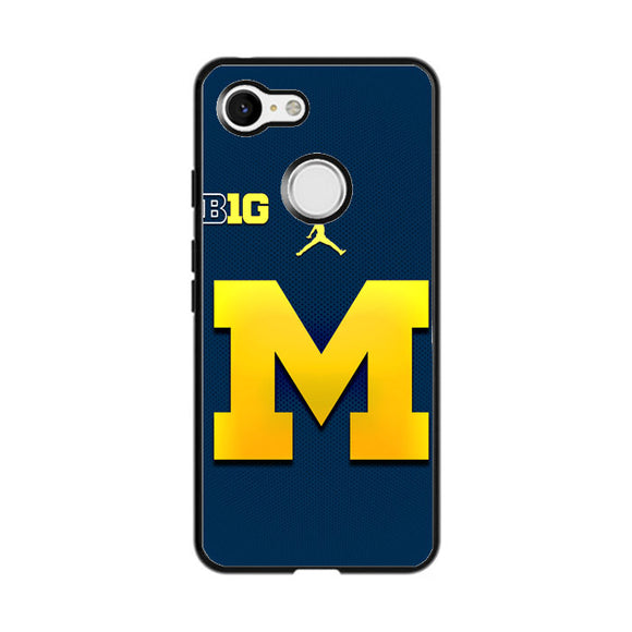 University Of Michigan Medical School Logo Google Pixel 3 Case | Frostedcase
