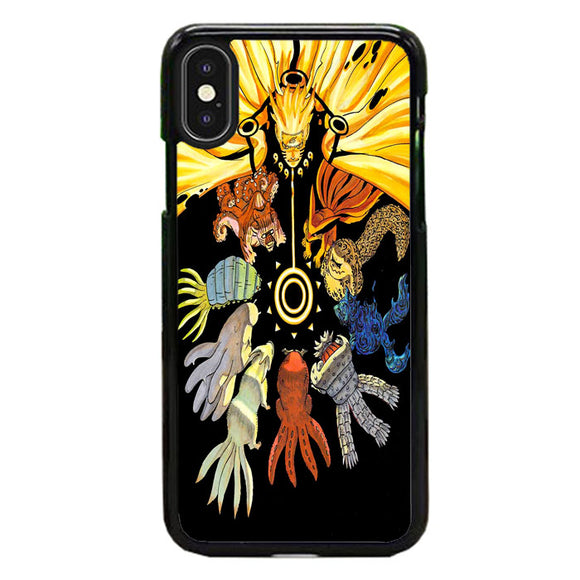 Uzumaki Naruto Kyuubi Mode iPhone XS Max Case | Frostedcase