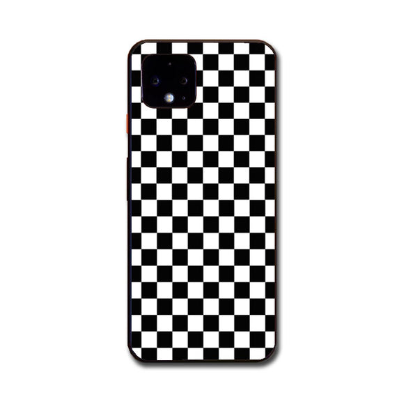 Vans Black And White Squares Google Pixel 4 Case | Frostedcase