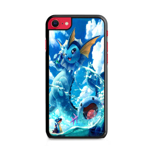 Vaporeon And Friends Pokemon Water iPhone SE Case | Frostedcase