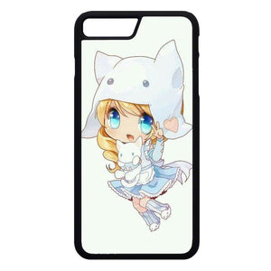 Versi Gadis Anime iPhone 7 Plus Case | Frostedcase