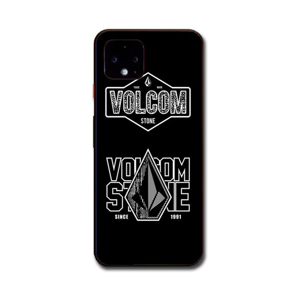 Volcom Logo Collaboration Google Pixel 4 Case | Frostedcase