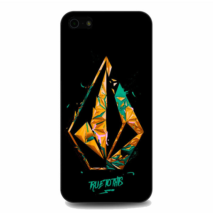 Volcom True To This Illustration iPhone 5 5S SE Case   Frostedcase