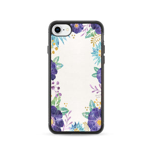 Watercolor Flower iPhone 8 Case | Frostedcase