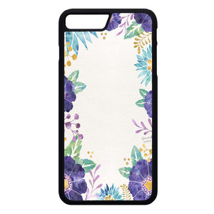 Watercolor Flower iPhone 7 Plus Case | Frostedcase