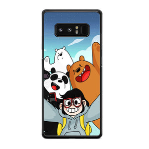 competitive price 7dfbf d5b7e We Bare Bears And Chloe Photo Selfie Samsung Galaxy Note 8 Case |  Frostedcase