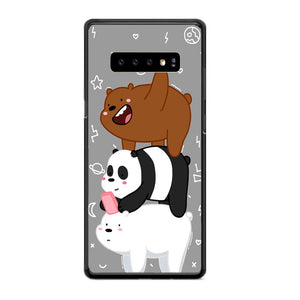 huge discount 6d91c 0e2d7 We Bare Bears Samsung Galaxy S10e Case | Frostedcase