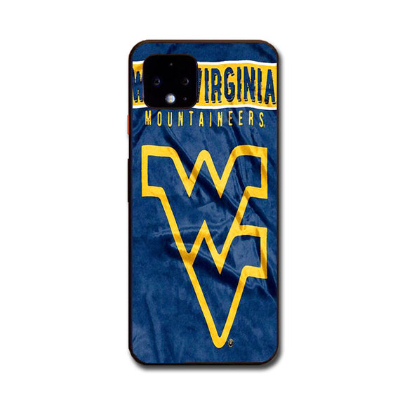 West Virginia Mountaineers Flag Art Google Pixel 4 Case | Frostedcase