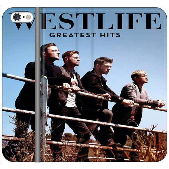 Westlife Greatest Hits 2011 iPhone 6 Plus|6S Plus Flip Case | Frostedcase