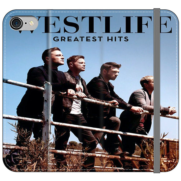 Westlife Greatest Hits 2011 iPhone 8 Flip Case | Frostedcase