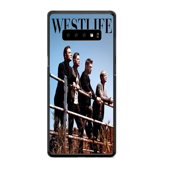 Westlife Greatest Hits 2011 Samsung Galaxy S10 Case | Frostedcase