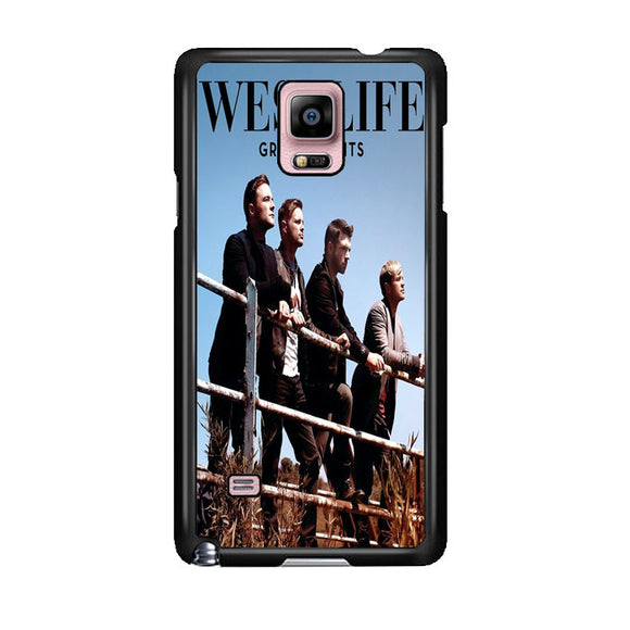 Westlife Greatest Hits 2011 Samsung Galaxy Note 4 Case | Frostedcase