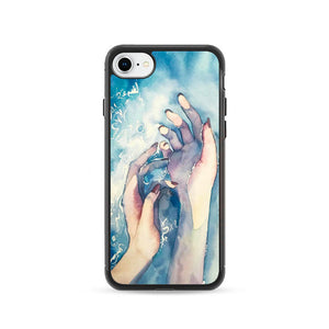 White Nights Watercolor Travel iPhone 8 Case | Frostedcase