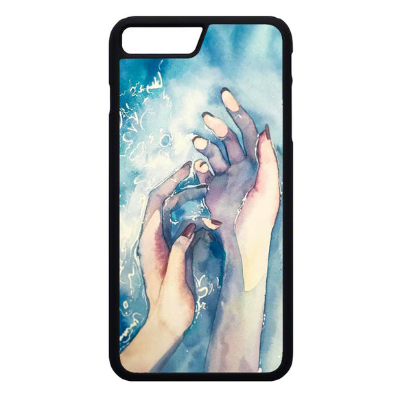 White Nights Watercolor Travel iPhone 7 Plus Case | Frostedcase