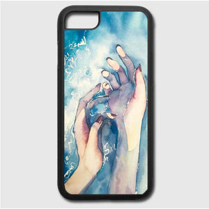 White Nights Watercolor Travel iPhone 7 Case | Frostedcase