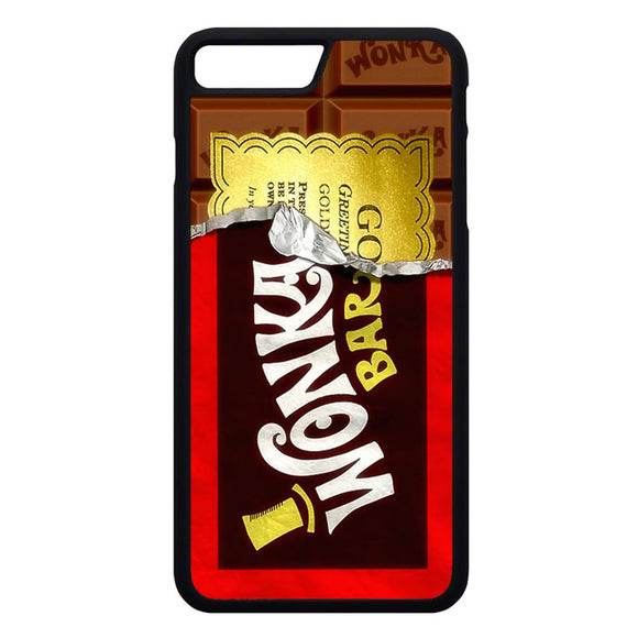 Willy Wonka Chocolate Golden Ticket iPhone 7 Plus Case | Frostedcase