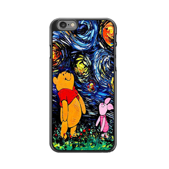 Winnie The Pooh Paint Art Poster iPhone 6 Plus|6S Plus Case | Frostedcase