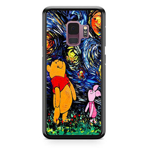 Winnie The Pooh Paint Art Poster Samsung Galaxy S9 Case Frostedcase